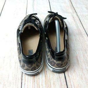 Sperry Shoes - Sperry topsider biscayne leopard print boat shoes